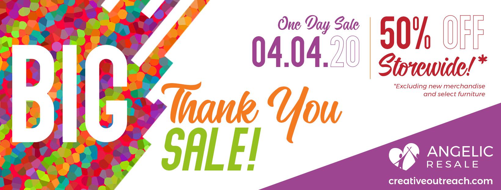 Big Thank You Sale 7